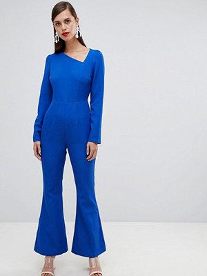 Unique21 Asymmetrisk långärmad jumpsuit