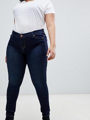 Oasis Plus Oasis Curve Skinny jeans i mörk tvätt