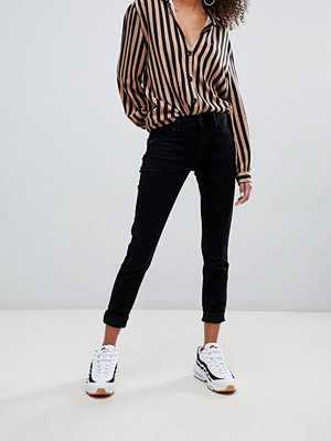 Bershka Svarta push up jeans Svart