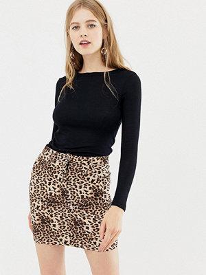 Parisian Kjol med leopardmönster Leopard
