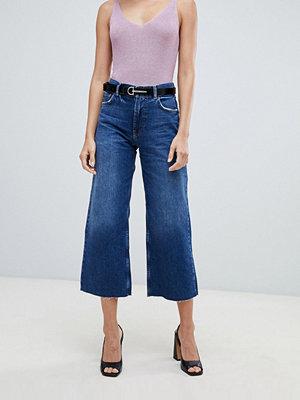 Mango Korta jeans Jeansblå