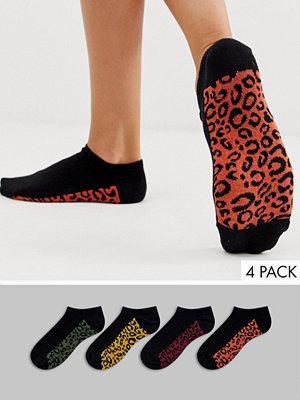 Strumpor - New Look 4-pack svarta