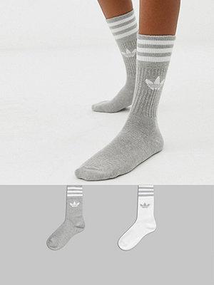 Adidas Originals Grå strumpor 2-pack