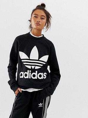 Tröjor - Adidas Originals Oversize-tröja med treklöver
