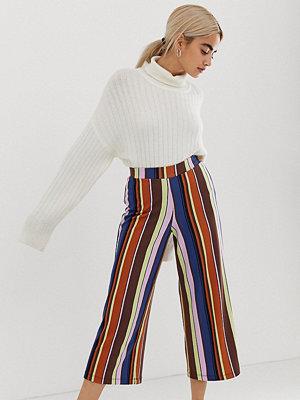 ... ASOS Petite Randiga culotte-byxor i 70-talsstil 348defe2f007d