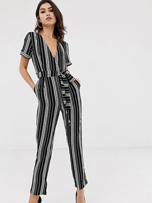 Girl In Mind Randig jumpsuit