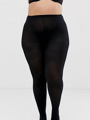 Strumpbyxor - Pretty Polly Curve Svarta opak-tights i 60 denier