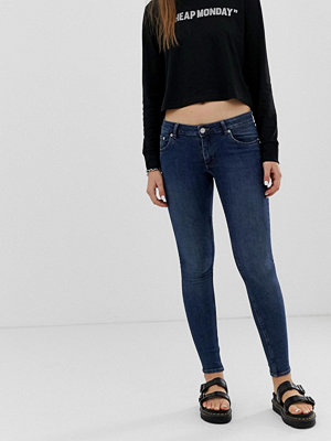 Cheap Monday Second Skin skinny jeans med låg midja