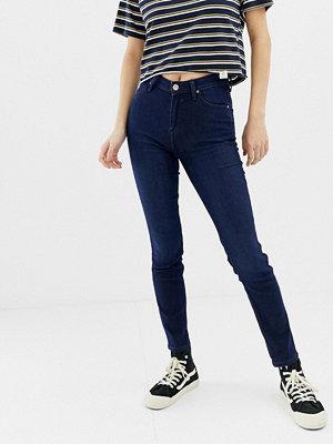 Lee Jeans Lee Scarlett Skinny jeans med hög midja Mörkblå
