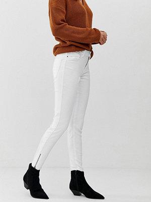 Vero Moda Jeans med smal passform Kritvit