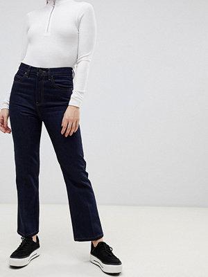 ASOS DESIGN Recycled Egerton Indigoblå ankellånga flare jeans Indigo