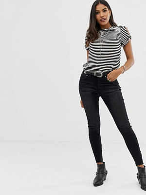One Teaspoon Free Love Skinny jeans Jett black