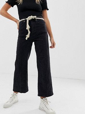 Free People Wales Korta jeans med vida ben
