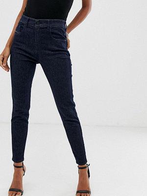 Diesel Högmidjade skinny jeans Rå
