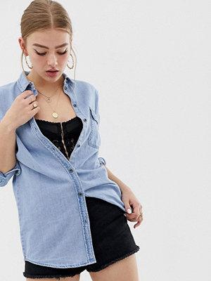 Noisy May Ljus jeanskjol i oversize-modell