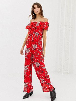 Glamorous Blommig jumpsuit