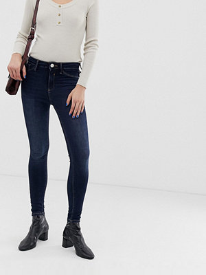 River Island Molly Skinny jeans i mörk tvätt Mörk färg