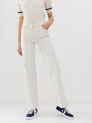 Pepe Jeans Strand Flared jeans med snörning Denim