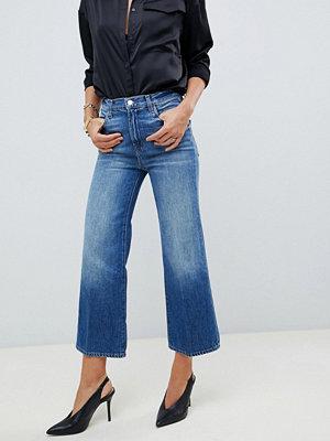 J Brand Joan Beskurna wide leg jeans med hög midja Mimic