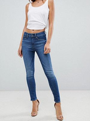 G-Star 3301 Extremt höga skinny jeans Dk sliten