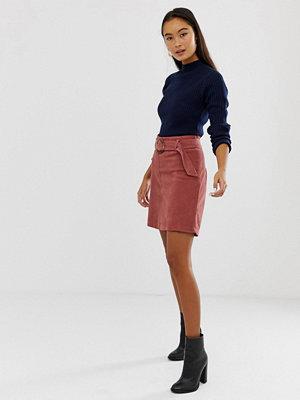 New Look Kjol med spänne i manchester Mellanrosa
