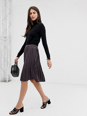Kjolar - Vila Plisserad kjol Redwood