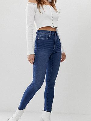 Only Petite Skinny jeans med hög midja
