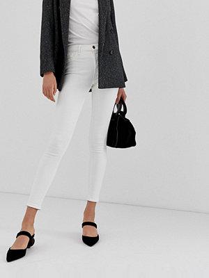 River Island Amelie Vita skinny jeans Elfenben