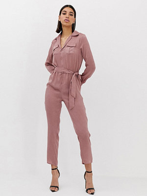 Missguided Rosa funktionell jumpsuit Rose