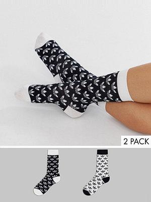 Strumpor - Adidas Originals Medelhöga strumpor med treklövermotiv