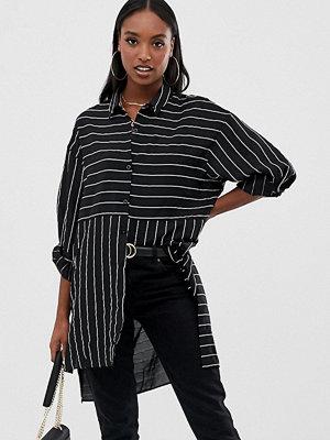 Skjortor - Missguided Tall Missgudied Tall Flerfärgad randig skjortklänning
