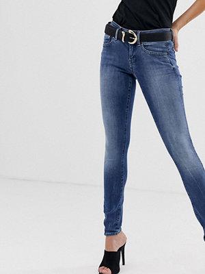 G-Star Lynn Halvhöga superskinny jeans Medium aged