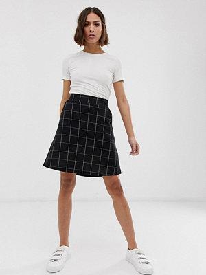 Ichi Rutig a-linjeformad kjol