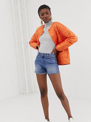 ASOS DESIGN Vintage blå jeansshorts Vintage-blå