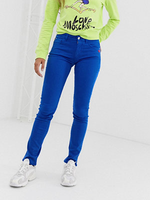 Love Moschino Blå skinny jeans Y18 royal