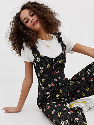 Brave Soul Darling Småblommig jumpsuit Navy floral combo