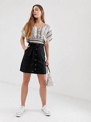 Brave Soul Lizi Funktionell kjol med knäppning