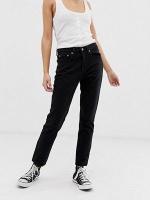 Levi's 501 Skinny jeans Svart med hjärtmönster