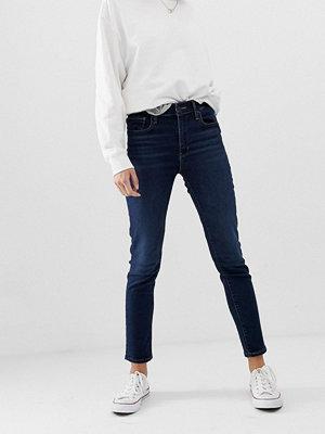 Levi's 721 Jeans med hög midja och smal passform Arcade night
