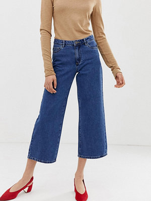 Only Sonny Wide leg jeans Mellanblå denim