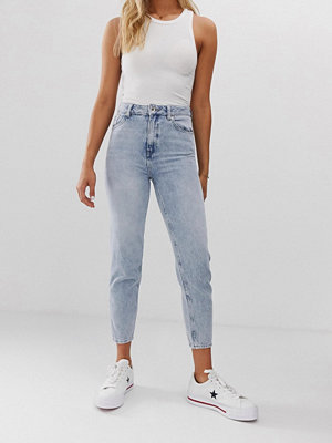 Superdry Mom jeans Vintage sky blue