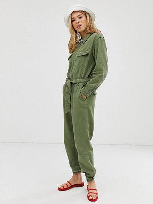 Bershka Grön overall
