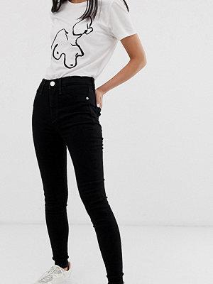 River Island Petite Harper Svarta skinny jeans