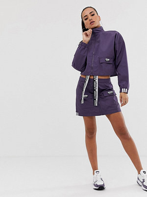 Adidas Originals RYV Lila kjol med fickor med lock