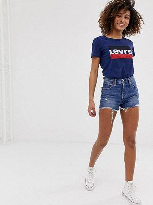 Levi's 501 Shorts med hög midja