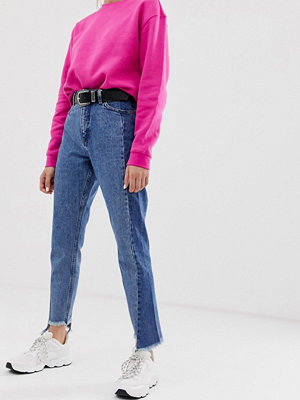 Monki Mom-jeans med paneler