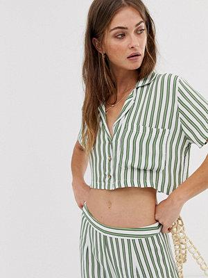 Skjortor - Faithfull the Brand Faithfull Uma randig shirt Almeria stripe