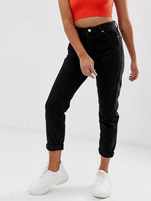 Bershka Svarta mon jeans