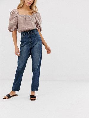 """Glamorous Jeans i """"mom jeans""""-modell Stentvätt"""