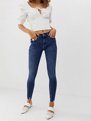 River Island Amelie Mörka skinny jeans Svart